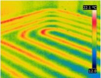 Vérification par infrarouge des réseaux.