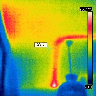 Déformation thermique anormale